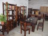 老船木茶台茶桌中式古典小茶台 1.5米家具小茶台加工定制茶台