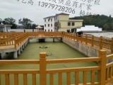 九江仿木栏杆制作费用 水泥仿木栏杆施工图 仿木栏杆定制作