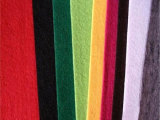 厂家供应彩色涤纶针刺无纺布,软硬厚薄皆可生产
