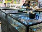 超市魚缸訂制,海鮮池定做水產生鮮池定制觀賞魚缸定