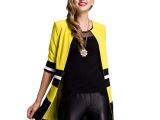 2014年冬装新款高端女装外套 欧美时尚上衣气质外套 新款**