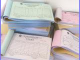 长期定做 多种无碳纸点菜单表格 高档表格单据表格