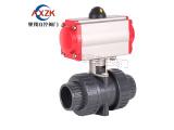 广东气动PVC球阀品牌,大量供应优质的气动PVC球阀