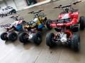 新款沙滩摩托车 四轮摩托车 机器人黄包车/儿童蹦极床