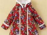 外贸童棉衣贴牌加工 来料加工 服装加工定制