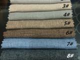 厂家直销 高档仿麻布彩麻 时尚沙发 包包 工艺品面料用布 批发