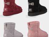 厂家批发 超高品质澳洲皮毛一体UGG雪地靴 水钻短筒雪地靴