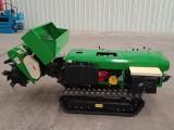 小型开沟施肥机 履带式多功能田园管理机