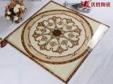 优胜 高档镀金砖 地面抛晶砖仿地毯 拼图 玄关花 客厅