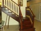 厂家直销武汉实木楼梯扶手整梯阁楼护栏立柱踏步
