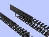 浙江宁波慈溪供应16档半塑料理线架16档半金属理线槽24口理线器