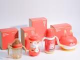 宝升新生儿奶瓶新年套装礼盒保温奶瓶水杯吸盘碗奶粉盒