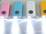 厂家出售新款带LED灯移动电源 便携式充电宝电源 随身应急充