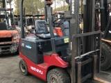 二手电动叉车 上海二手电瓶叉车价格 标准门架3-6米高