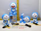 热销创意时尚卡通可爱叮当猫充电风扇USB充电迷你儿童手持小风扇