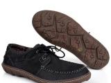 一件代发新款春秋男士真皮低帮系带皮鞋外贸