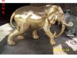 园林广场铜雕大象雕塑铸铜仿铜动物雕塑