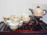 景德镇结晶釉陶瓷茶具 高档商务馈赠礼品茶具 员工福利礼品茶具