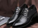 2014新款商务休闲鞋品牌男鞋英伦真皮潮流系带皮鞋低帮鞋温州厂家