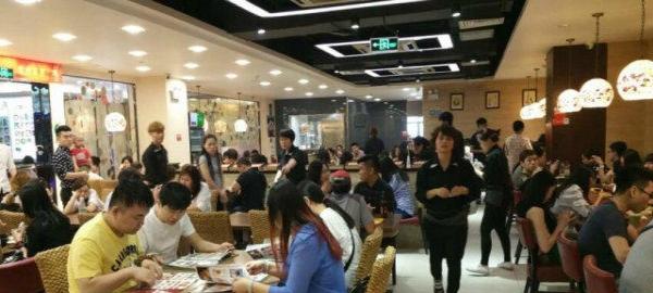 大型客流格子美食商业铺,美食街招租,餐厅大+广州十大二楼广场粤菜图片