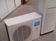 超低价出售工地拆迁空调8台,八成新,平均便宜400元