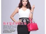 2014新款时尚欧美流苏女士包包真皮牛皮单肩包手提包女包批发代理