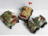 批发电动坦克 电动翻斗车儿童玩具/电动车 三款混装0.2