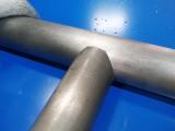 火爆款楼梯扶手护栏磨口坡口开弧机价格不锈钢冲孔机方管切角机