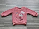 2014秋款新款 韩版英文字母小兔子全棉圆领T恤  童装批发厂家
