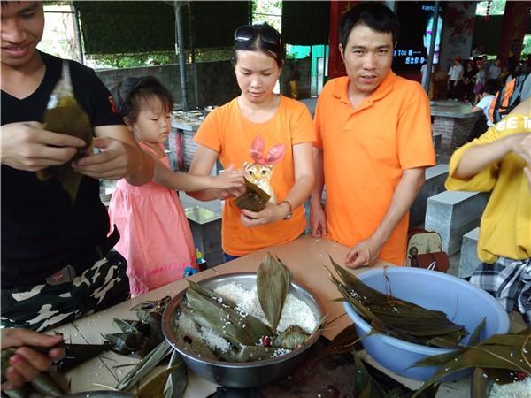 端午节粽子免费吃!松山湖农家乐团建野炊家庭游粽子荔枝免费送