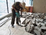 武汉房屋装修拆除拆旧室内厨房卫生间家具门窗地板拆除垃圾清运
