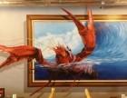 杨浦区室内墙绘公司 墙绘彩绘工作的 3D涂鸦团队