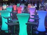 狮山活动庆典,舞台灯光,桁架背景,发光吧台