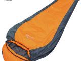 柯瑞普 正品户外妈咪式加厚野营睡袋冬季旅行成人睡袋  工厂批发