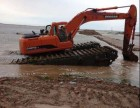长沙市长沙县水陆两用挖掘机租赁水上挖掘机出租