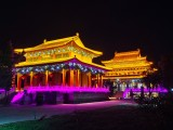 北京亮化工程公司,樓體亮化公司,亮化工程,景觀亮化選藝彩照明