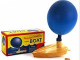 科学玩具 探索 儿童幼儿园科学实验玩具 气球船 宝宝洗澡玩具