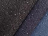 提花青年布 全棉色织斜纹 仿牛仔衬衫布料 H2331