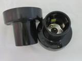 口底座 平口E27老化测试 LED检测灯头灯座插口5爪 灯具清仓