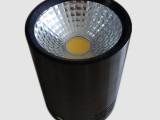 车铝Led筒灯外壳 COB车铝明装筒灯外壳套件 8W 12W明装