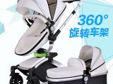婴儿推车高景观四轮360°转避震