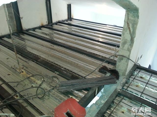 朝阳做底商门脸房阁楼现浇浇筑楼板搭建室内钢结构阁楼隔层夹层