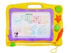 淘宝琪趣6688a儿童画板超大号彩色磁性画板儿童写字板宝宝玩具3岁