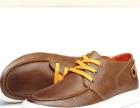 康龙男士休闲鞋 春季日常舒适潮流男鞋 透气学院风真皮鞋子男