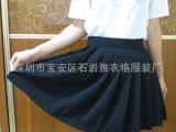 日系百褶裙学生裙cos学院风日本JK制服裙有口袋 纯色半身短裙多
