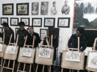 扬州专业绘画培训-素描、国画、水彩画培训-0基础学
