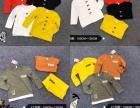 昆明螺蛳湾秋冬季一手货源童装长袖T恤衫批发中小童新款童装套装