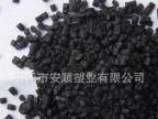 厂家直销黑色PE再生料 PE回料 达环保可注塑、拉丝、改性、