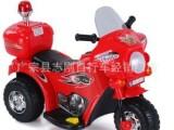 新款儿童电动摩托车儿童摩托警车三轮童车儿童电动车 厂家批发