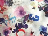 直销供应 欧根纱复合雪纺面料 平纹雪纺数码印花面料